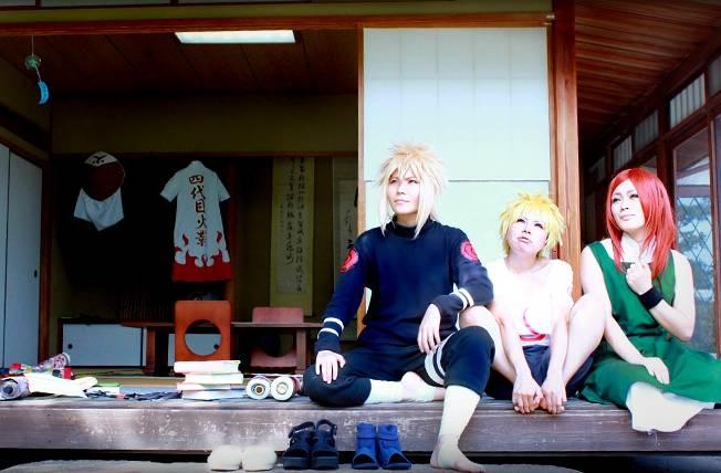 minato,naruto and kushina