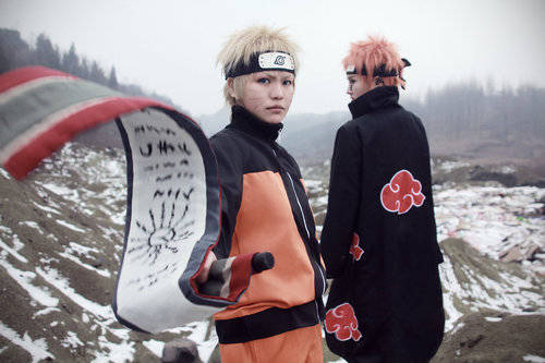 naruto and pain cosplay