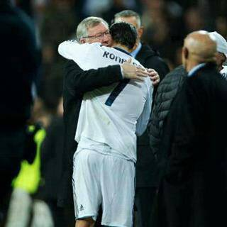 Ronaldo & Alex Ferguson.