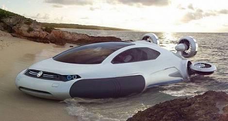 ini dia mobil amfibi yang akan di ciptakan kira-kira tahun 2090 yang akan datang, wownya ya...:D