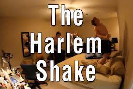 Harlem Shake menjadi Dance Populer saat ini setelah Gangnam Stlye ! Gerakan yang aneh serta unik menjadi populer di you tube.. dimana penari pertama melakukan sebuah gerakan yang memaju-mundurkan pinggul dan tangan ,lalu di ikuti yg lainya