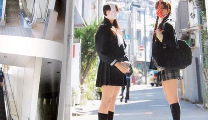 Memakai Celana Dalam di Wajah Jadi Tren di Jepang