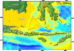 ternyata indoneia juga memiliki SEGITIGA BERMUDA Segitiga Masalembo Segitiga Masalembo adalah segitiga yang serupa dengan segitiga bermuda di kepulauan Bahama. Segitiga Masalembo ini terletak di perairan laut Jawa, tepatnya pertemuan antara