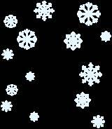 Tatap lebih dekat gambar ini, maka anda akan melihat butiran kristal salju l