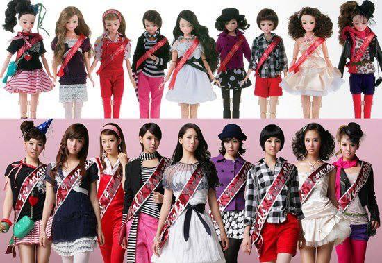 SNSD doll...^^ Which one do u like??