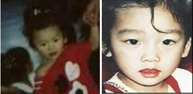 ini hyoyeon n taeyeon SNSD waktu kecil !!! imut bnget...