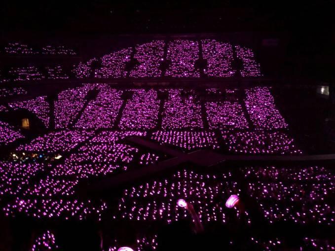 Pink Ocean in Saitama Super Arena....Daebakkkkkk!!!!!! yg sone jangan lupa klik WOW ya