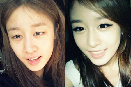 Hihi Jiyeon (anggota T-ara ) tanpa make up. Gimana menurut kalian? KLIK WOW ya :D