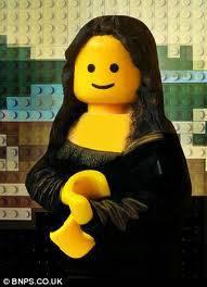 monalisa versi lego..wow