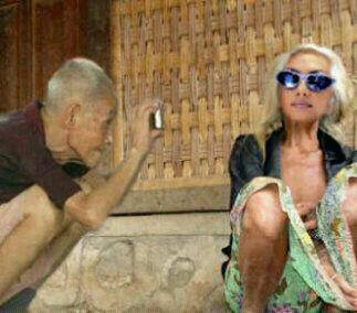 Neh Nenek Model Tahun 2098 hahahahaaha W0w tuk mereka berdua...!!