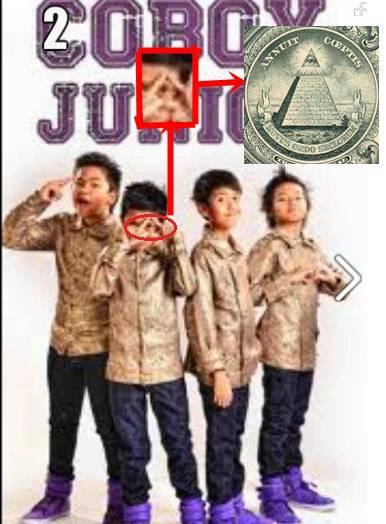 Bukti bahwa Coboy junior adalah illuminati!!