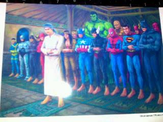 Super Hero Aja Doa Sebelum Menyelamatkan Warga!!!!!!