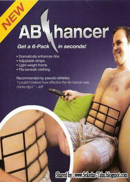 cara mudah membentuk badan six pack,, :D :D
