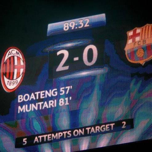 Ternyata AC Milan lebih bagus daripada Barca