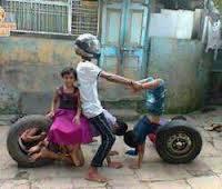 Sepeda Motor Zaman Modern......... 1 WOW = 10 pahala