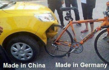 BEDANYA BUATAN CHINA DAN GERMANY Kamu suka buatan mana? 1. MADE IN CINA 2. MADE IN GERMAN 3. MADE IN INDONESIA Dukung produksi Indonesia >> LIKE Daihatsu Indonesia ? .Neng.