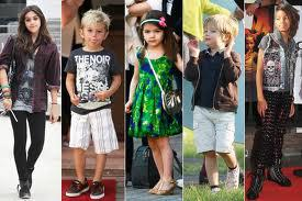 Most Stylish Celebrity Kid From left: Lourdes Leon, Kingston Rossdale, Suri Cruise, Shiloh Jolie-Pitt, Willow Smith. Whos your fav??