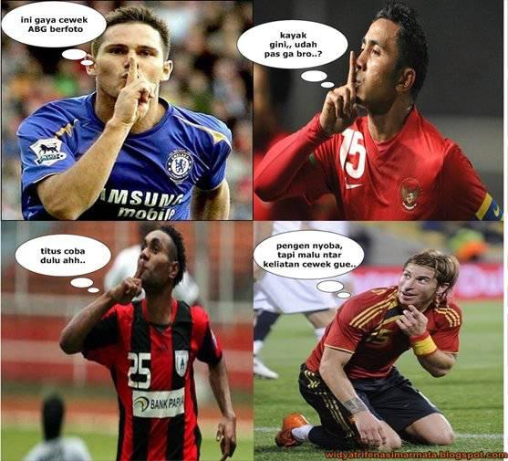 gaya-gaya alay pemain bola.... =D