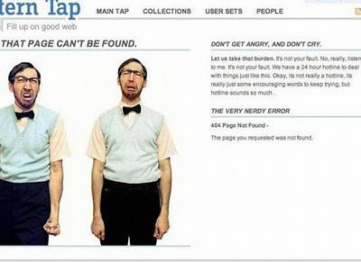 404 error Pages Unik