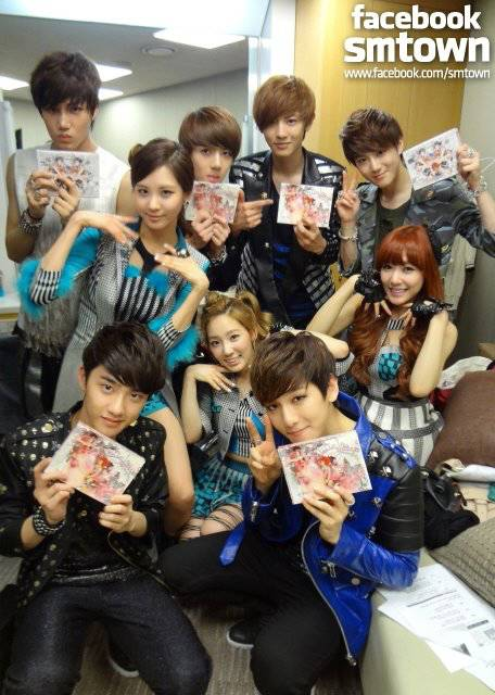 EXO-K whit Girls Generation Tiffany, SeoHyun, and TaeYeon ? dont forget wow -.-