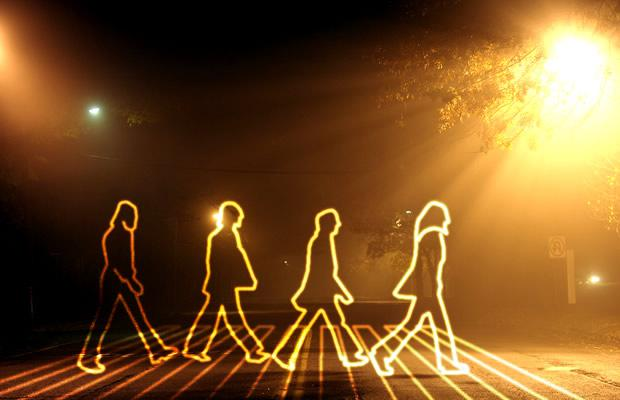 The Beatles light painting version!!!