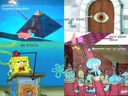 sisi gelap film kartun spongebob wownya dong...:D