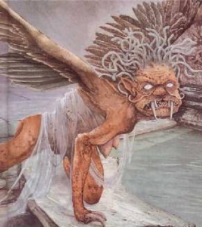 Euriale (Yunani : ???????), dalam mitologi Yunani, adalah salah satu Gorgon. Dia digambarkan sebagai makhluk yang bersayap, memiliki tangan dari kuningan, gigi yang tajam, dan memiliki rambut ular. Dia mampu membuat makhluk apapun menjadi batu