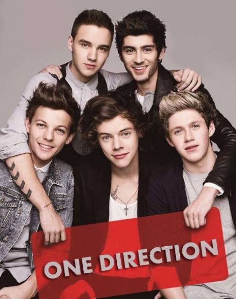 One Direction adalah grup penyanyi asal Inggris yang terbentuk di london pada tahun 2010. Grup ini beranggotakan Niall Horan, Zayn Malik, Liam Payne, Harry Styles dan Louis Tomlinson. setelah menjadi juara ke-3 dlm ajang pencarian THE X FACTOR