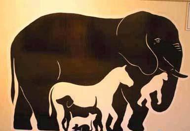 coba deh hitung berapa hewan di gambar ni....