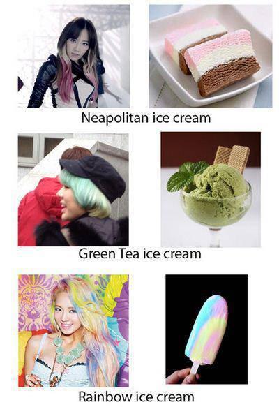 klian plih ice cream yg mana ?