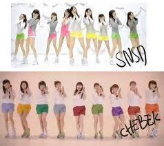 Siapa yang merasa Cherrybelle plagiat SNSD tolong wow nya