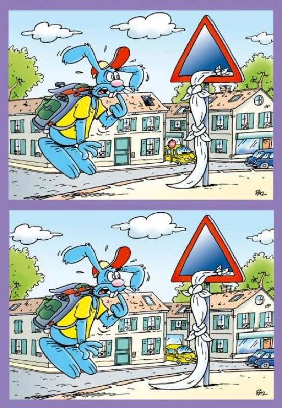 Cari 2 Perbedaan pada gambar berikut!!