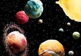Planet ice cream. Mau? Wow yaaa.