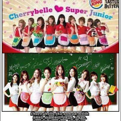 hahaha cherrybelle plagiat lagi, aduh twibi BEGO kok chibi di jodohin ama Super Junior ?? Super Junior aja ga kenal ama cherrybelle :P dasar twibi tukang ngarepp WOW NYA JANGAN LUPA ^_^ we love Girls Generation ?