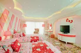 Siapa sih yang gak pengen punya kamar semewah and selucu ini? Serba Hello Kity, lucu ya! Pasti pda pengen kan?? yang suka WOWnya donk!!