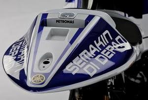 Motor GP, Produsen Honda menggunakan jargon One Heart (Honda Indonesia) yang terpasang di motor balapnya, Yamaha juga membubuhi jargon Semakin di Depan di baju balapnya. Walaupun motor Jepang, tapi Semua produksinya dilakukan di Indonesia.