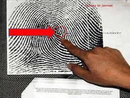 WOW nya Dong..... Lihat pada bulatan merah itu….Kalimah ALLAH membentuk cap jari…SubhanaALLAH…..