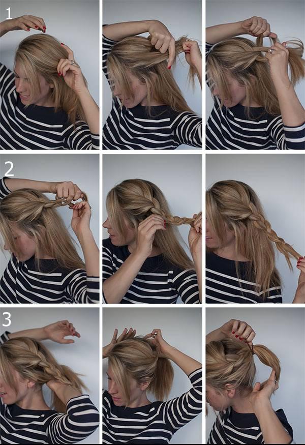kalau kamu bosan dengan gaya rambut ekor kuda mungkin ini solusinya. dengan ditambahkan kepangan manis, kamu siap beraktifitas dengan nyaman dan modis. Semoga bermanfaat ya. WOW dulu.