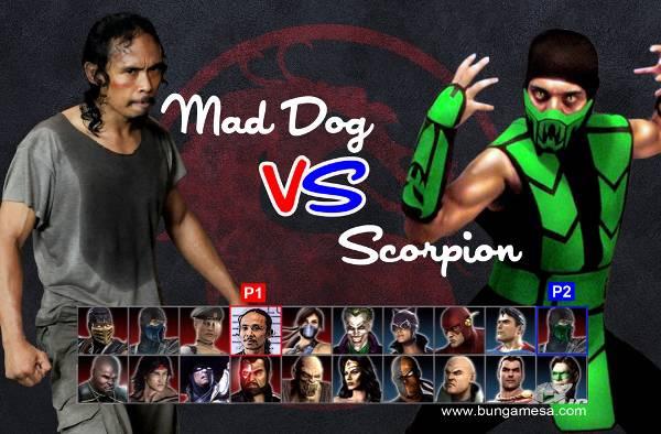 kira-kira scorpion bakal jadi apa klo lawan mad dog ?