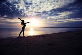 Sunset In Beach...