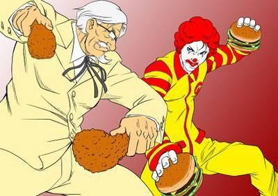 kfc vs mcdonald menurud kalian siapa kah yg akan menang ????? klik WOW nya ya ....