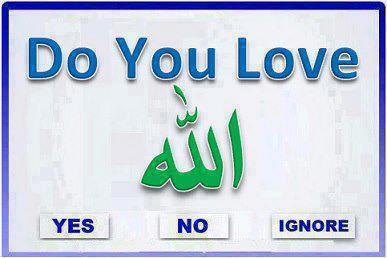 jika LOVE ALLAH, klik WOW....