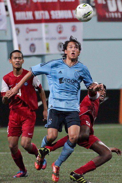 Ezra Walian pemain Ajax Amsterdam dan Timnas Belanda U-16 keturunan Manado
