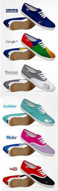 Social Media Shoes!
