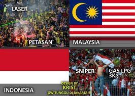 Kalau Malaysia Pake Laser & Petasan Kita Juga Bisa Pake Nsiper & Gas LPG 3 Kg ,,,Yg Setuju WOWnya Donk