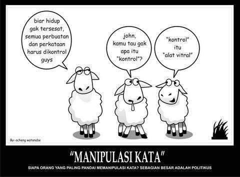 percakapan antara kambing smart dan kambinf OON ! wow nya ya jangan lupa