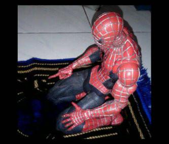 Spider-Man aja udh tobat krn pcrn sm Marie Jane..... klian udh tobat blum????????? klu udh klik WoWny,y.....................