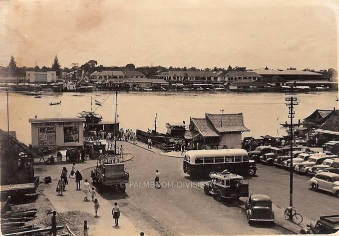 Palembang sebelum dibangunnya jembatan AMPERA.
