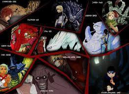 10biju dalam anime naruto coba tebak siapa aja. janganlupa wownya ya