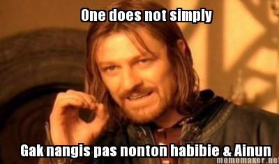 Lebay amat Nonton Habibie & Ainun aja Nangisss :( www.Lebay.com yang Berminat KLIK WoW ya..